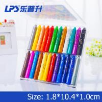 Wholesale Bright Color Super Smooth Water Based Crayons For School Student 24 Colors from china suppliers