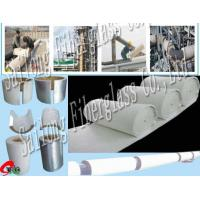 China Fiberglass Pipe Insulation Material on sale