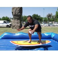 Wholesale Excting Inflatable Sports Games , 1 Person Inflatable Surfboard Simulator from china suppliers