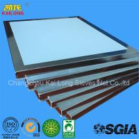 SALE white Polyester Screen Printing Mesh  Frame For Stained Paper Printing for sale