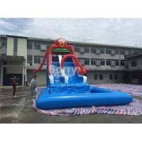 Wholesale Commercial Grade Octopus Inflatable Water Slide With Small Detachable Pool from china suppliers