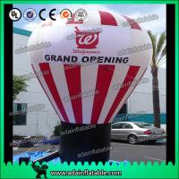 Wholesale White And Red Event Inflatable Balloon , Party Inflatable Ball from china suppliers