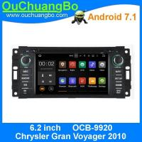 Wholesale Ouchuangbo car gps multi media android  7.1 for Chrysler Gran Voyager del 2010 with 1024*600 Bluetooth Phone 4*45 from china suppliers