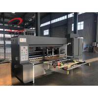 China Automatic Corrugated Board Lead Edge Feeding Slotter Machinery 1200x2400 Size on sale