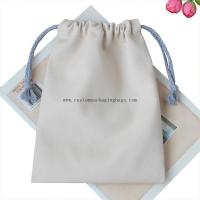 China Factory Price Customized Small 100% Cotton Drawstring Money Bag Tea Bag for sale