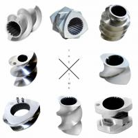 Wholesale High Wear Parallel PE Pipe Extruder Screw Elements With ISO Certification from china suppliers