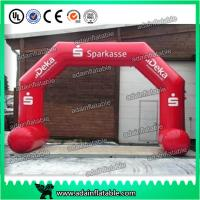 Wholesale Logo Printing Dragon Shaped Red Inflatable Arch Archway 7 * 4m Custom Inflatable Arch from china suppliers