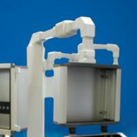 China Metal Operator Interface Enclosures Box Support Arm Bracket Humanized Design on sale