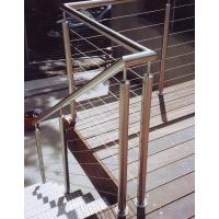 Wholesale Deck railing outdoor stair railing staircase design from china suppliers