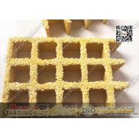 Wholesale 38X38mm Yellow Color Molded Fiberglass Grating | USCG Certificated from china suppliers
