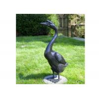 Wholesale Outdoor Modern Life Size Bronze Statue Casting Finish Animal Goose Sculpture from china suppliers