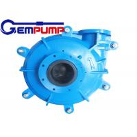 Wholesale 100D-L Centrifugal Slurry Pump / Mining Slurry Pump ZVZ Drive from china suppliers