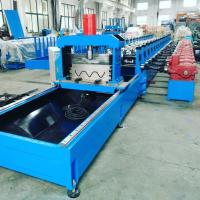 Wholesale 100 mm Shaft Highway Guardrail Roll Former Machine with Gear Box Transmission from china suppliers
