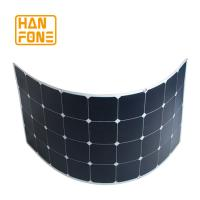 Wholesale 100 Watt SemiFlexible Solar Panel System For Roof Power Generation from china suppliers