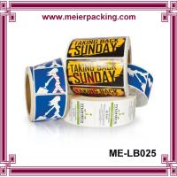 Wholesale Custom Sticker Manufacturers/Wine sticker labels in roll/Packing Sticker Label Printing  ME-LB025 from china suppliers