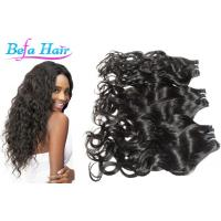 Wholesale Colored Ombre / Bright Red Hair Extensions , Kinky Curl / Body Wave Human Hair from china suppliers