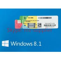 Wholesale Microsoft Windows 8.1 Pro Pack OEM Upgrade 32 Bit / 64 Bit With English Retail Box from china suppliers