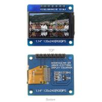 China 1.14 Inch Lcd Panel Driver 135x240 SPI Interface IPS With PCB Board / Few IO Pins on sale