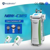 Wholesale Beauty Equipments Cavitaion RF Weight Loss Fat Freezing Cryolipolysis slimming machine from china suppliers