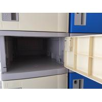 Wholesale 10 Tier Beige Keylesscoin Operated Lockers , Mobile Phone Lockers For Factory from china suppliers