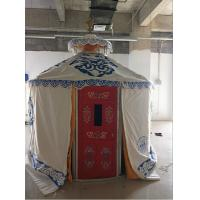 Wholesale Windproof Luxury Mongolian Yurt With Insulation Blanket Inside Decorative from china suppliers