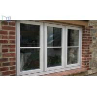 Wholesale Philippines Price Double Tempered Glass French Aluminum Casement Window from china suppliers