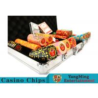 Wholesale 10,000Pcs 11.5g Clay Poker Chip Sets With Aluminum Case For Gambling Games from china suppliers