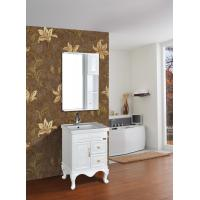 Buy cheap Cabinet Antique Classical Bathroom Furniture Single Vanity With Legs from wholesalers