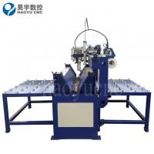 China Automatic Longitudinal Seam Welding Machine for Flat Metal Sheet on sale