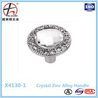 Buy cheap Unique Diamond Crystal Cabinet Handle For Furniture Decoration from wholesalers