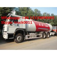 Buy cheap SINO TRUK HOWO 336hp 25cbm lpg gas delivery truck for sale, HOWO lpg gas filling truck from Wholesalers