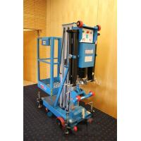 Quality Easy Loading Hydraulic Work Platform , 10 Meter Vertical Mast Lift For Factories for sale