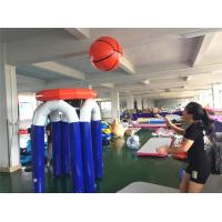 Buy cheap Fun Inflatable Interactive Games / 1.9m Height Giant Inflatable Basketball Hoop from wholesalers