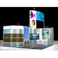 China 5x6 Aluminum Truss Trade Show Displays , Portable Exhibition Booth Design on sale