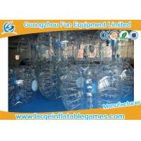 Wholesale Clear 1.2m / 1.5m Inflatable Human Ball Bumper Zorb Football With 0.7mm TPU from china suppliers