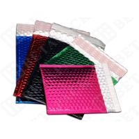 Wholesale Green / Black CD / DVD Metallic Bubble Mailer Envelopes Tolerance ±0.2'' from china suppliers