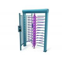 Wholesale Safety Stainless Steel Full High Turnstile Access Control , No Condensation from china suppliers