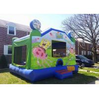 Wholesale Amazing Backyard Spongebob bounce house , Big Party Jumpers Bounce House Party from china suppliers