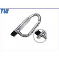 China Promotion Safety Carabiner 8GB Pen Drive Disk Device Without Lock for sale