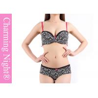 Wholesale Fashion Printed Mature Ladies Bra Sets with Cotton Material Panties from china suppliers