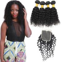 Wholesale Soft Smooth Malaysian Virgin Hair Extensions , Virgin Malaysian Curly Hair Weave from china suppliers