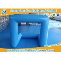 Wholesale Outdoor Inflatable Sport Games Inflatable Football Soccer Goal 0.6 / 0.9mm PVC from china suppliers