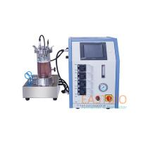 China Autoclavable Magnetic Stirred Laboratory Bioreactor 4 Peristaltic Pumps Benchtop for sale