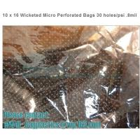 Wholesale CPP perforation bags, Wicketed Micro Perforated bags, Bakery bags, Bopp bags, Bread bags from china suppliers