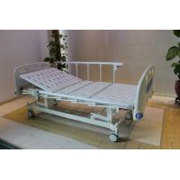 Wholesale Height Adjustable Central Locking Three Motors Medical Hospital Bed with Bumpers from china suppliers