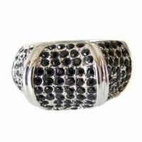 Buy cheap Fashion Ring with Shiny Rhinestones from wholesalers