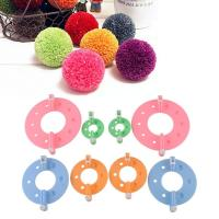 Wholesale Pom Pom Maker Fluff Ball Weaver Needle Knitting Wool Tool Yarn Kit from china suppliers