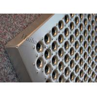 Aluminum Grip Strut Plank Metal Safety Grating Q235 Perforated Stairs Trends Grating for sale