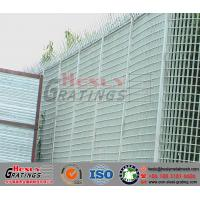 steel grating barrier