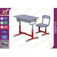 Buy cheap Hight Adjustable Student Desk And Chair Set For Primary School E0 Grade Eco-friendly from wholesalers